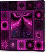 Virulent Lightwaves Redux  Canvas Print