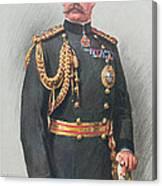 Viscount Kitchener Of Khartoum Canvas Print