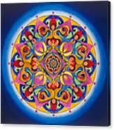 Vision - Brow Chakra Mandala Canvas Print