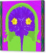 Vision Flowers In The Brain Canvas Print
