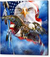 Vision Of Freedom Canvas Print
