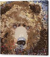 Visionary Bear Canvas Print