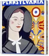 Visit Pennsylvania Canvas Print