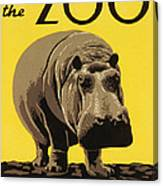 Visit The Philadelphia Zoo Canvas Print