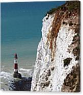 Visiting Beachy Head Canvas Print