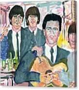 Visiting Elvis 1965 Canvas Print