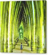 Visiting Emerald City Canvas Print