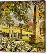 Visiting History Canvas Print
