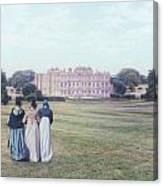 visiting Mr Darcy Canvas Print