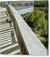 Visitor's Center Lookout Canvas Print