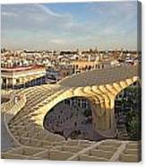 Vista De Sevilla Canvas Print