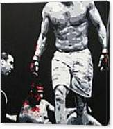 Vitor Destroyed Canvas Print