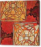 Vitrales II From The Frank Lloyd Wright A Mano Series Canvas Print