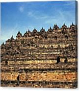 Vivid Borobudur Canvas Print