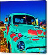 Vivid Dodge II Canvas Print