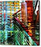 Vivid Existence-no2 Canvas Print