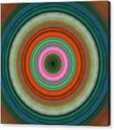 Vivid Peace - Circle Art By Sharon Cummings Canvas Print