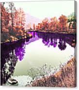 Vivid River Canvas Print