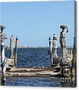 Vizcaya - The Pier Canvas Print