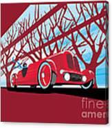 Vntage Racer Canvas Print