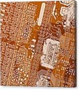 Vo96 Circuit 2 Canvas Print