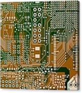 Vo96 Circuit 3 Canvas Print