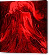 Red Volcanic Dreams Canvas Print