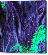 Volcanic Tree 2 Canvas Print