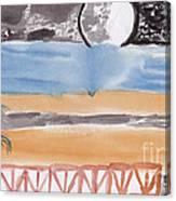 Volcanica Canvas Print