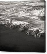 Volcano Ash Iceland Canvas Print