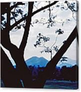 Volcano Mt. Pinatubo In Phillipines Canvas Print