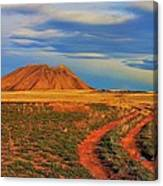 Volcano Road Canvas Print