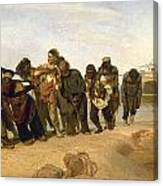 Volga Boatmen Canvas Print