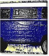 Volkswagon Microbus Canvas Print