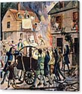 Volunteer Firefighters Canvas Print