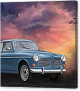 Volvo Amazon Canvas Print