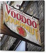 Voodoo Doughnuts Canvas Print