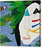 Voodoo Warrior Canvas Print