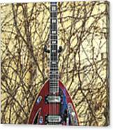 Vox Starstream Vi Guitar 1967 Canvas Print