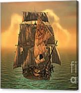 The Voyage Of The Dawn Treader Canvas Print