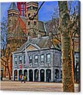 Vrijthof Square Canvas Print