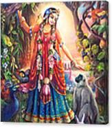 Vrinda Devi Canvas Print