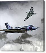 Vulcan Wingman Canvas Print
