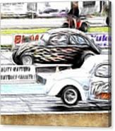 Vw Beetle Race Canvas Print