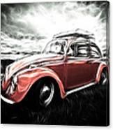 Vw Bug Art Canvas Print