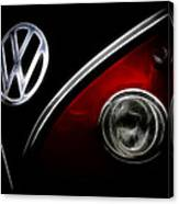 Vw Micro Bus Logo Canvas Print