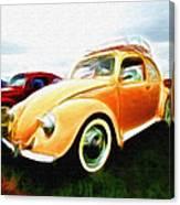 Vw Type 1 Canvas Print