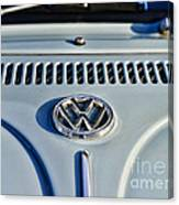 Vw Volkswagen Bug Beetle Canvas Print