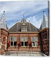 Waag In Amsterdam Canvas Print