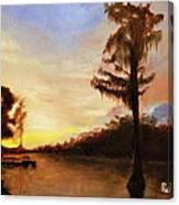 Waccamaw Evening Canvas Print